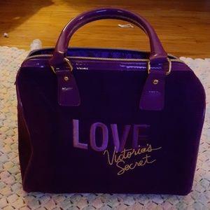 Purple Mini LOVE Victoria's Secret Purse